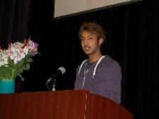在校生挨拶 ネパール