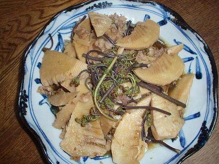 竹の子 煮物