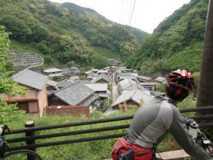 宇津ノ谷の集落
