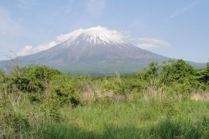 富士宮からの富士山