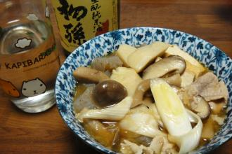 庄内風  芋煮汁