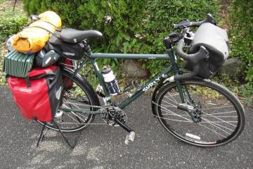 日本一周の自転車