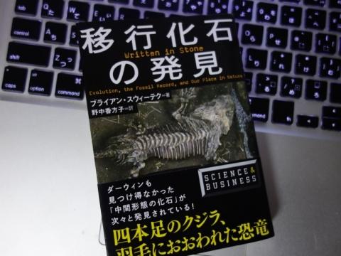 実は化石研究がだいぶ進んでいたことを文庫で知った「移行化石の発見」