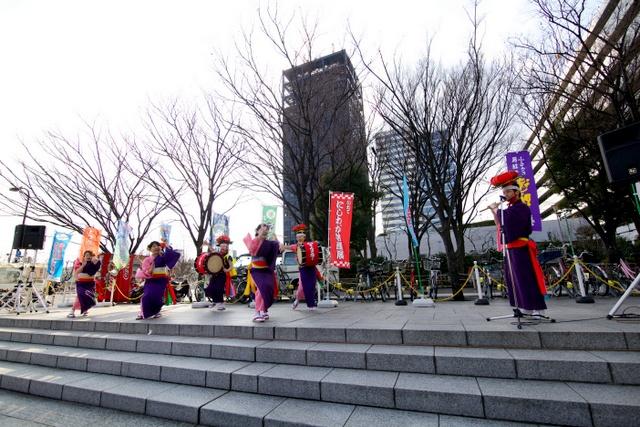 中野サンプラザ 中野×岩手県3.11メモリアルセレモニー 再起への絆 さんさ踊り