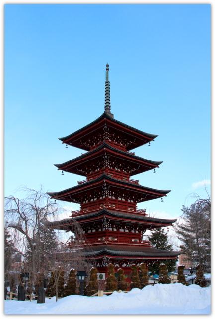 弘前 最勝院 五重塔 弘前観光 神社 仏閣