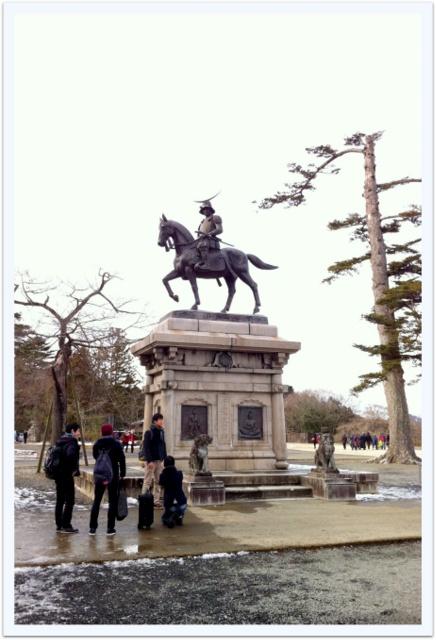 宮城県 仙台市 仙台市博物館 仙台城 青葉城 伊達正宗 騎馬像