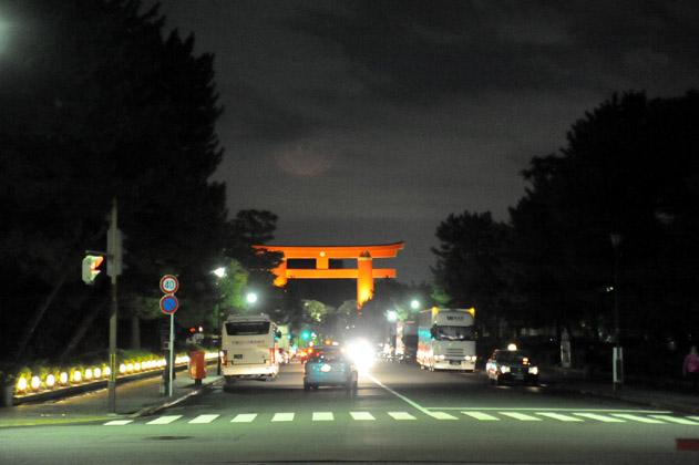night/jingumichi