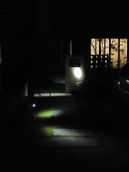 夜のライト