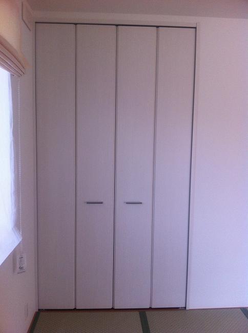 和室の収納の扉
