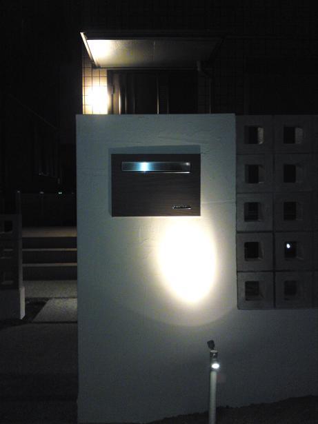 門柱ライト