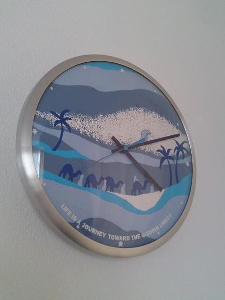 ハリウッドランチマーケットの時計