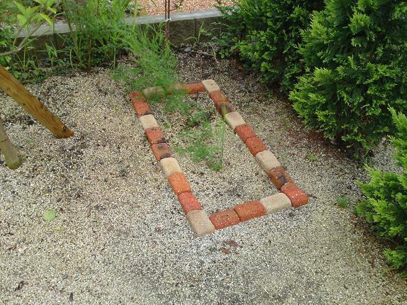簡単手作り花壇