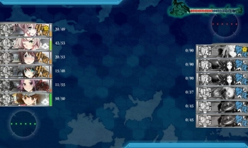 2-5 第六戦隊任務夜戦全艦撃沈