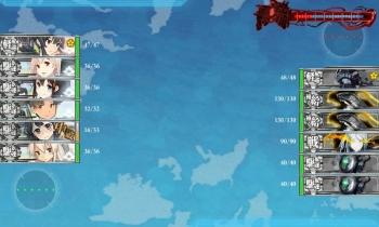 3-5 水雷戦隊によるボス戦昼戦④