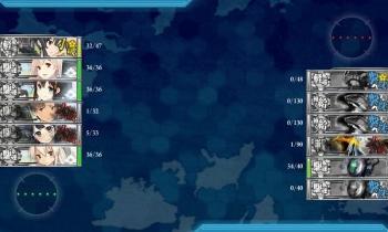 3-5 水雷戦隊によるボス戦夜戦④結果