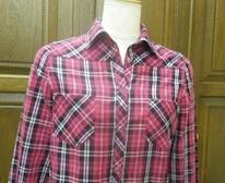 おおつチェックシャツ2