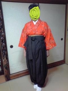 野袴着画1