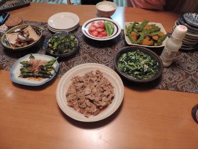 7.13夕食7