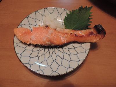 鮭の塩麹漬け焼
