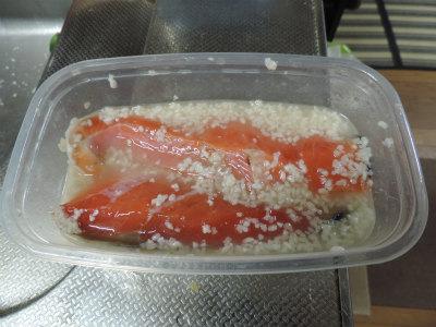 鮭の塩麹漬け