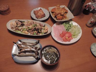 8・25夕食
