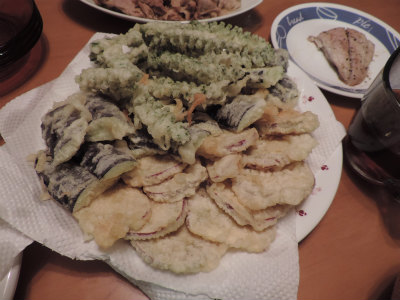 野菜の天婦羅