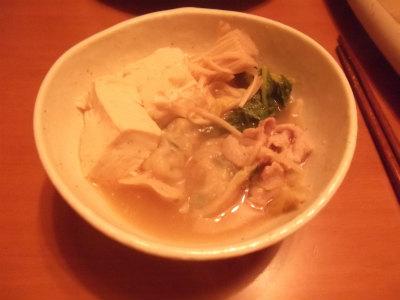 坦々餃子鍋6