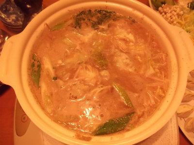坦々餃子鍋5