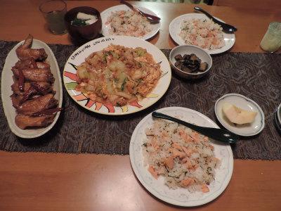 10.12夕食