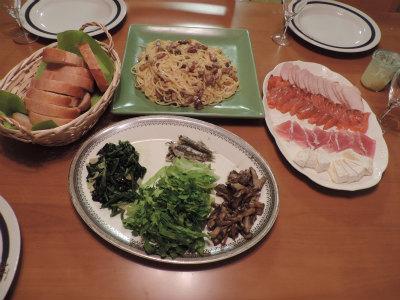 10.14夕食