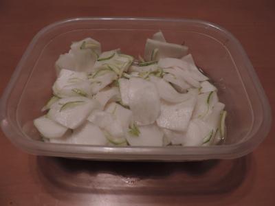 カブの酢漬け柚子風味