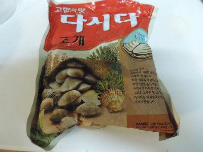 韓国のスープだし