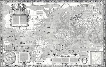 メルカトルが1569年に作成した地図2