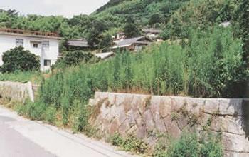 登張竹風の生家跡