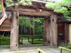 高桐院 表門