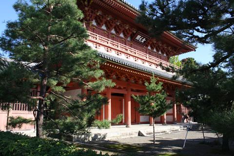 大徳寺(朱塗りの山門)