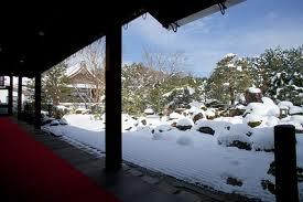 高桐院の雪9