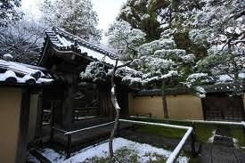 高桐院の雪15