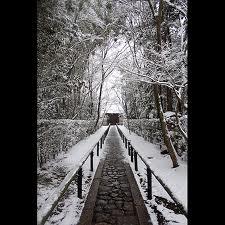 高桐院の雪2