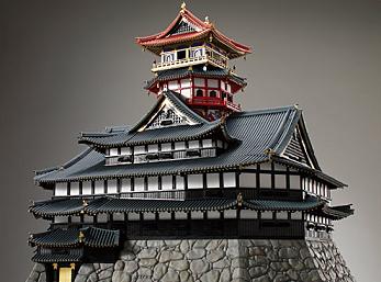安土城復元模型