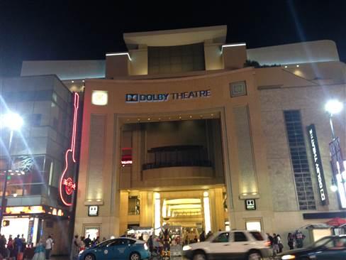 Hollywood ドルビー・シアター 201411