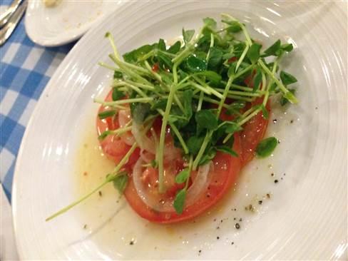 トマトサラダ 201412