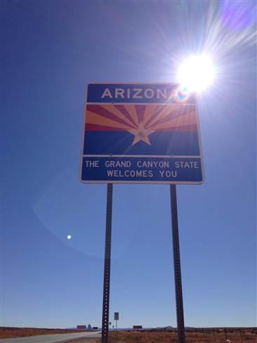 Arizonaへ 201412