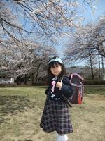 ユキ入学式