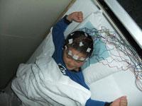 初回脳波検査2