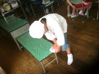 6.21配膳台拭き