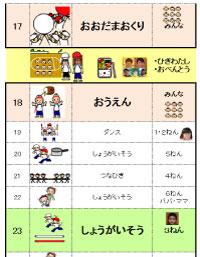 運動会プログラム2012