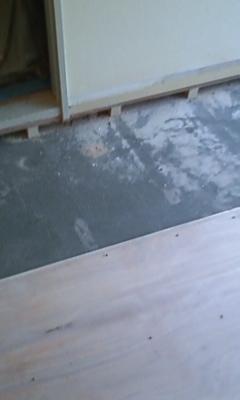 麻布台 床木工事3