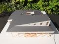 大郷町の家1/50模型写真