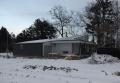 大郷町の家雪景色